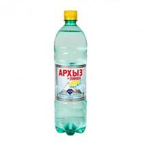 Минеральная вода Архыз со вкусом клубники 1 л.