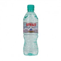 Минеральная вода Архыз негазированная 1 л.