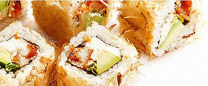 Японские суши-роллы в сакура роллс Тирасполь