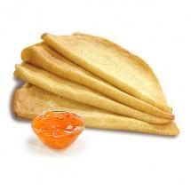Блины с абрикосовым джемом